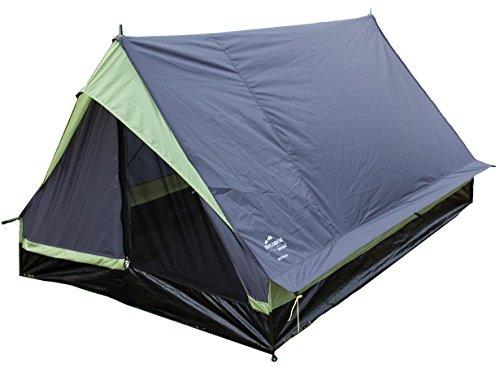 EXPLORER Zelt Minipack Hauszelt 190x120x95cm 2 Personen 1500mm Wassersäule Outdoor Wandern Familie Camping, mehrfarbig, 4101
