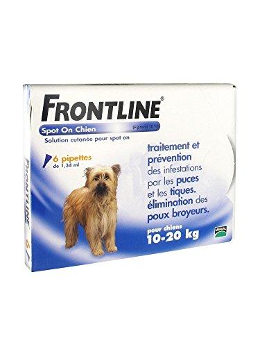 FRONTLINE Spot-On Chien M (10-20 kg) 6 Pipettes