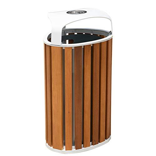 Vuilnisbak buiten vuilnisbak met vergrendelend deksel asbak open top binnen kast roestvrij staal industriële afvalcontainer