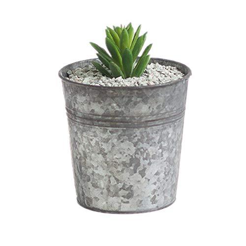 Yagoal Usine Accessoires des Pots de Fleurs pour Balcon Bac à légumes Contenants pour Plantes Grand des Pots de Fleurs À L'intérieur Jardin Décorations