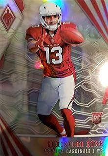 Christian Kirk Football Card (Arizona Cardinals) 2018 Panini Phoenix Rookie Refractor #119