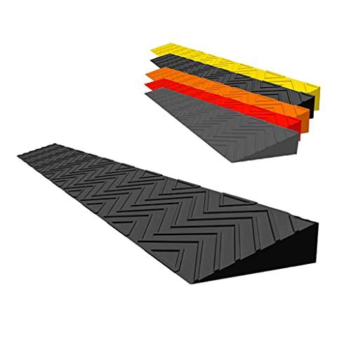 WXJ Rampe Interne per Uso Domestico, Gradini Alti da 2 A 5,5 Cm Rampe Rampa di Soglia Porta per Auto Pulizia Bici Robot Tagliaerba Carrello Garage Magazzino