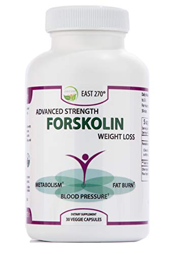 100% Pure Forskolin Extract with 2X More Potency. 60-Diet & Belly Buster Supplement Pills. Weight...