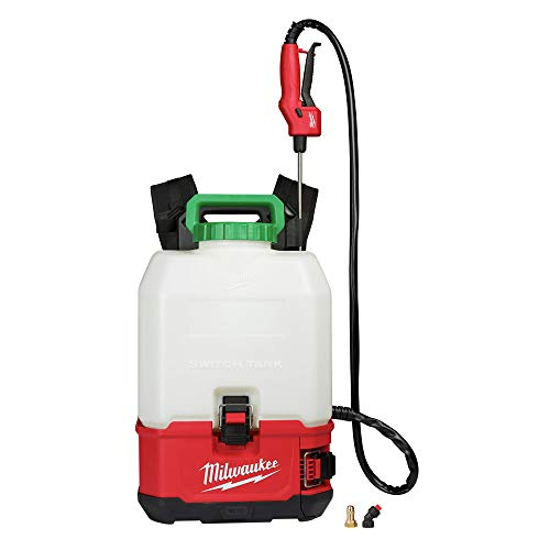 Milwaukee Electric Tools M18 Switch Tank 4-Gallon Backpack Sprayer (Tool Only)