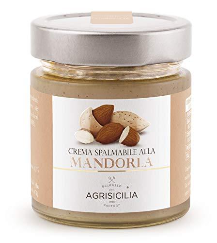 Agrisicilia Crema Spalmabile alla Mandorla, 200 Grammi