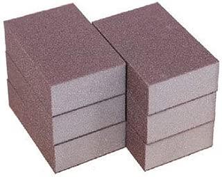 Lheng 100 Grit Sponge Emery Cloth Sandpaper Blocks Buffing Diamond Polishing Pads Hand Sanding Tool 6pcs