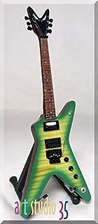 Best DIMEBAG DARRELL Miniature Guitar GREEN Review