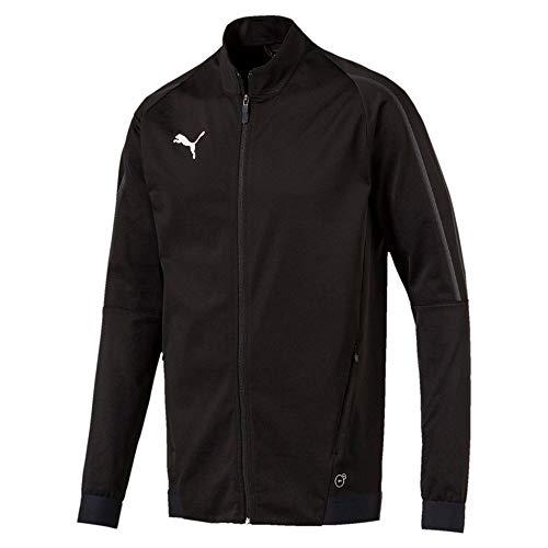 Puma Herren FINAL Training Jacket Trainingsjacke, Black-Asphalt, XL