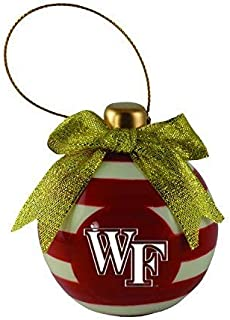 LXG, Inc. Wake Forest University -Christmas Bulb Ornament