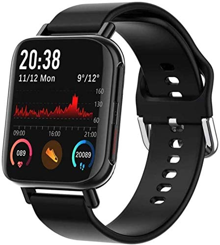 ZHENAO Smart Watch, Pulsera Inteligente de Pantalla de 1,54 Pulgadas, Monitoreo de Deportes a Prueba de Agua Rastreador de Fitness, Relojes para Hombres Y Mujeres Relojes de Rosa. C