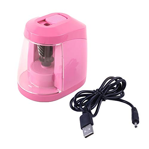 Sacapuntas Electrico Rosa Marca DONGKER