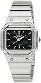 BREIL - Milano Palco BW0443 - Reloj de Mujer de Cuarzo, Correa de Acero Inoxidable Color Plata