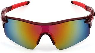 MANW Lunettes de soleil pour hommes lunettes de cyclisme cyclisme sports lunettes de plein air lunettes de soleil-W