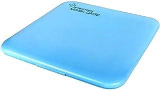 CHS Estuche para mascarillas, Portátil Caja de Almacenamiento de máscara a Prueba de Polvo y Humedad (Blue)