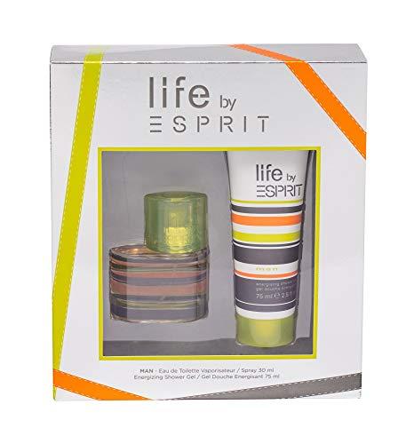 ESPRIT life by ESPRIT man Geschenkset EdT 30ml+Shower Gel 75ml