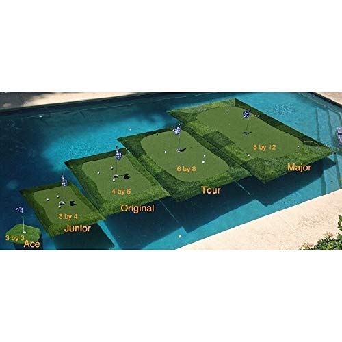 Floating Golf Green for Pools and Ponds, Chipping Mat (3' x 3')