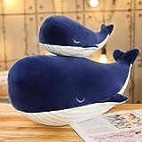 CGDX 1 unid Sper Suave Juguete de Felpa Sea Animal Big Blue Ballena Suave Juguete Animal de Peluche Regalo de Cumpleaos Azul 85 cm
