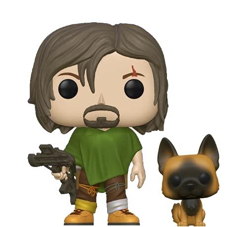 Funko Pop!&Buddy: Walking Dead - Daryl with Dog