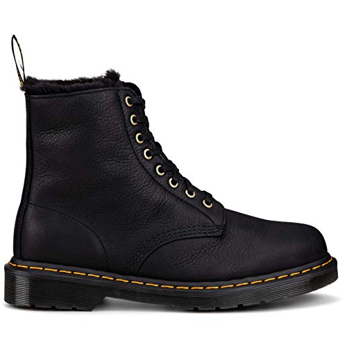 Dr. Martens Unisex 1460 Pascal FL Ambassador Leather Black Boots 5 UK