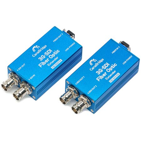 Canabridge from Canare 3G-SDI to LC Fiber Optic Extender/Converter...