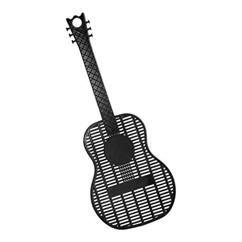 bluesa 原文 Matamoscas Manual Matamoscas, Matamoscas Paleta Puede Colgar En Pared Fácil, Moscas De Plástico De Estilo De Guitarra Mata Moscas Interior,...