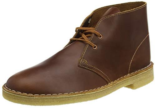 Clarks Originals Herren Kurzschaft Stiefel Desert Boots, Braun (Tan Leather Tan Leather), 44 EU