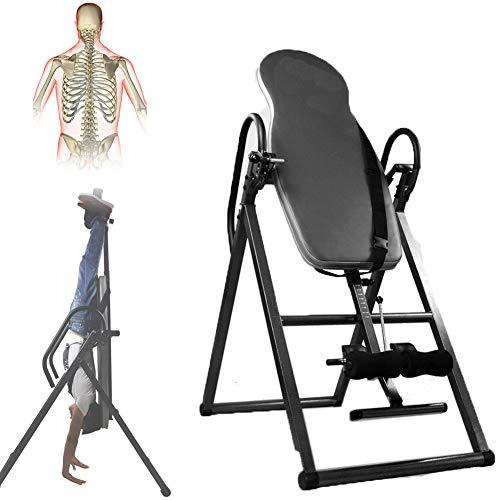 Grist CC Regolabile Panca Ad Inversione, Portatile Sicurezza Attrezzatura per Il Fitness, Multifunzione Pieghevole Schiena Terapia
