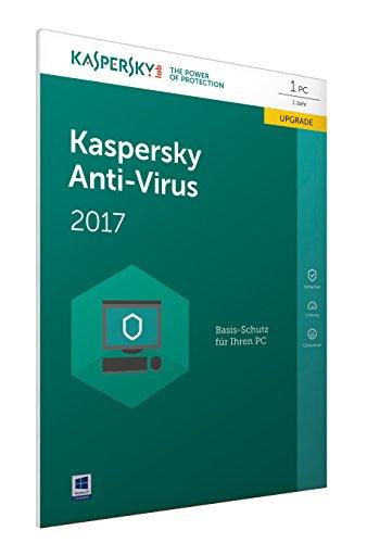 Preisvergleich Produktbild Kaspersky Anti-Virus 2017 Upgrade / 1 Gerät / 1 Jahr / PC / Download