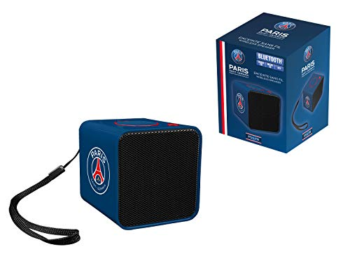 Subsonic Enceinte portable sans fil compacte - Haut parleur mini bluetooth pour transport et exterieur - Puissance 3W - PSG Paris Saint Germain
