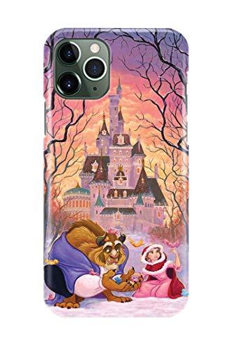Caso di Telefono per iPhone 11 PRO Max Beauty And The Beast Disney 7 Disegni