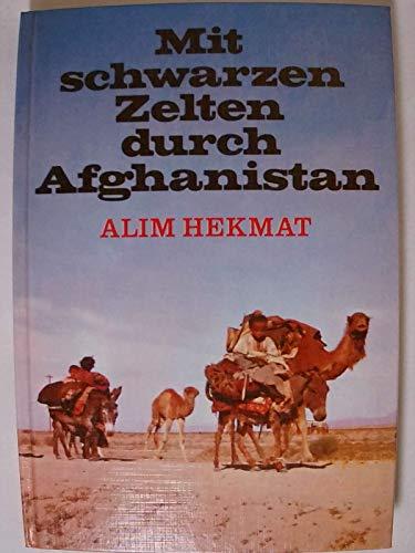 Mit schwarzen Zelten durch Afghanistan