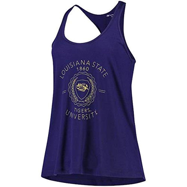 稚魚存在大宇宙Champion Champion LSU Tigers Women's Purple Eco Swing Tank Top スポーツ用品 【並行輸入品】