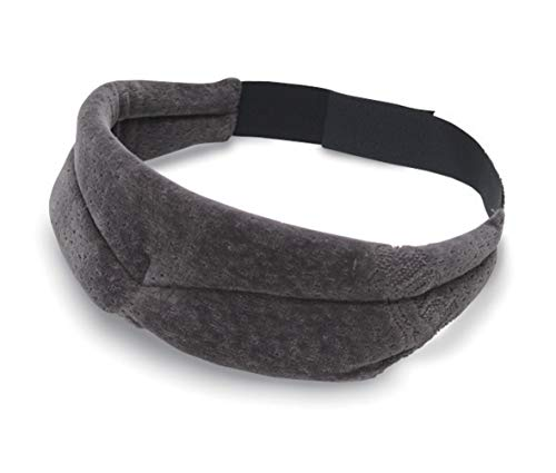 TEMPUR Schlafmaske für Damen und Herren, blickdichte verstellbare Schlafbrille für tiefe Entspannung