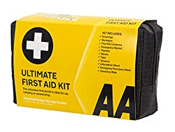 CONTAINS the essential items and more for family sickness or minor injuries COMPACT enough for the bathroom cabinet, car, glove box, kitchen cupboard INCLUDES safety gloves, foil blanket and a first aid leaflet ZIP-UP POUCH makes storage easy and kee...