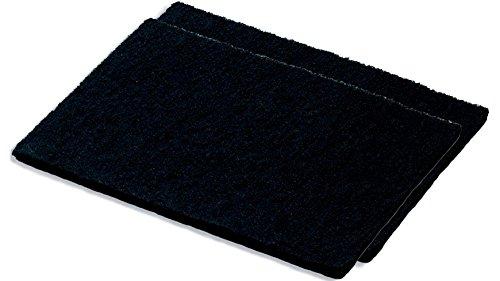 SILVERLINE AFP-SET 702 Set Aktivkohlefilter-Pad (bis zu 3 x waschbar) / Dunstabzugshaubenzubehör/Filter