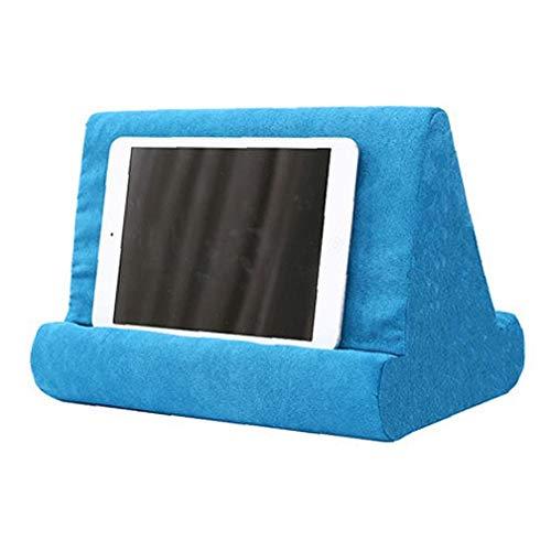 xuew 1PC del teléfono Celular de la Almohadilla Suave cojín multipropósito Libro Tableta representan para la Seguridad del Uso Diario (Negro)