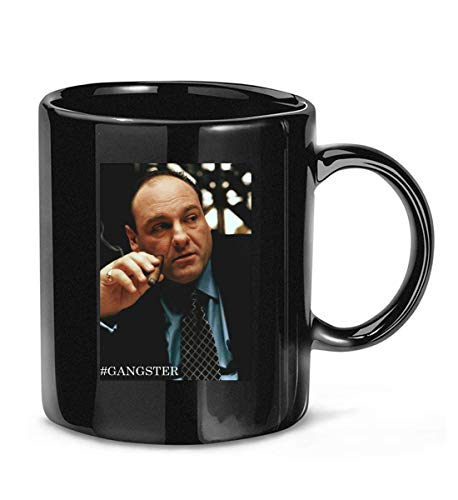 Tony Soprano Gangster Movie Tv Mafia Merchandise Goodfellas New Jersey Coffee Mug For Women and Men Tea Cups