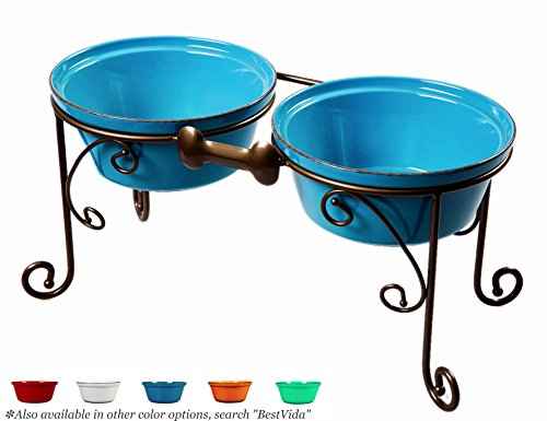 Sparks Elevated Dog Bowl and Pet Stand
