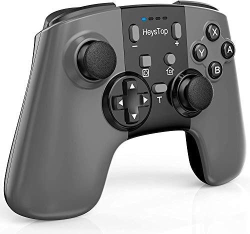 Wireless Nintendo Switch Controller HEYSTOP Nintendo Switch Pro Controller Remote Gamepad with Gyro Axis Dual Vibration Turbo Mode Pro Controller for Switch Game(2020 Update Version)