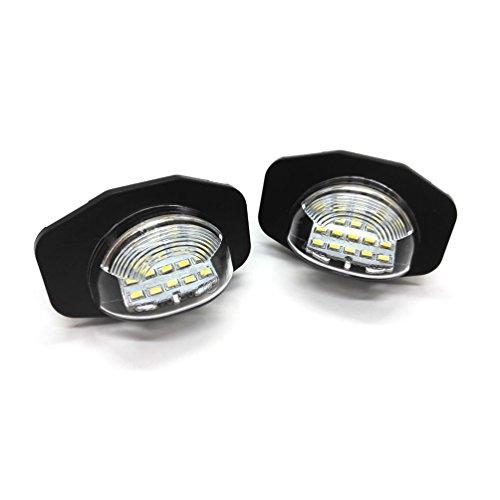 YAOFAO LED ライセンスランプ ナンバー灯 アルファード ヴェルファイア 20系 ウィッシュ オーリス イスト カローラフィールダー カローラルミオンなど専用 2PCS/セット