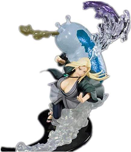 Gddg Regalos os Naruto Figura Tsunade Quinta generación Figura Bondage Anime Figura Figura de acción GJF0824