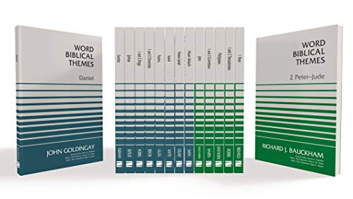 Compare Textbook Prices for Word Biblical Themes Collection: 15-Volume Set  ISBN 0025986115845 by Allen, Leslie C.,Bauckham, Dr. Richard,Beasley-Murray, George R.,Braun, Dr. Roddy,Butler, Trent C.,Durham, Dr. John I.,Goldingay, Dr. John,Hawthorne, Gerald F.,Hobbs, Dr  T. R.,Michaels, J. Ramsey,Morris, Leon,Smith, Ralph,Stuart, Douglas,Hubbard, David A.,Watts, John D. W.,Martin, Ralph P.