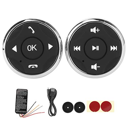 Botón de Volante multifunción Controlador Recargable USB para Android Multimedia Player