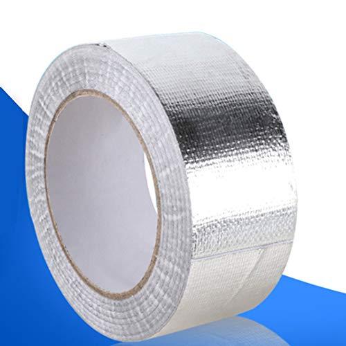 YSHtanj Uitlaat Pijp Wrap Auto Interieur Onderdelen Reparatie Gereedschap Aluminium folie Zelfklevende Uitlaat Header Pijp Koele Tape Warmte Isolatie Wrap