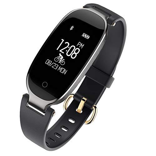 KDSFJIKUYB Smart Horloge S3 Smart Horloge Mode Sport Bluetooth Smart Polsband Telefoon Smart Klok Hartslagmeter Smartwatch Voor Vrouwen Meisje