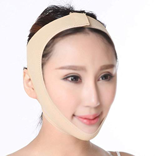 Perfect Double Chin Reducer Affaissement Skin Remover Face Neck and Chin Lift Facial Lifting and Slimming Strap Pain-Free Anti-Wrinkle Band S