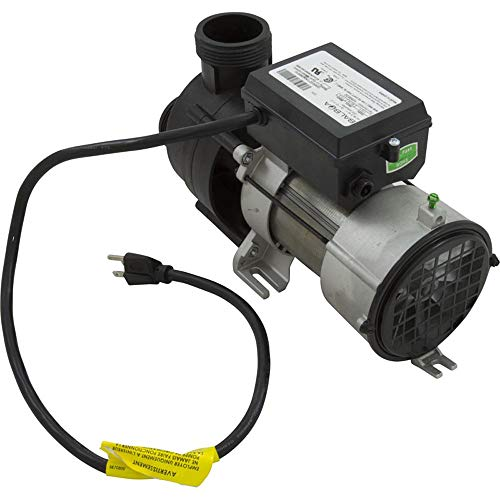 Pump, Bath, Balboa Wow, 115v, 7.5A, OEM w/ Air Switch