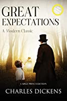 Great Expectations (Annotated, Large Print) (Sastrugi Press Classics)