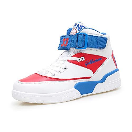 Fzuu - Zapatillas de deporte para hombre, para otoño e invierno, casuales, para baile de hip hop, para la calle, color, talla 41 EU