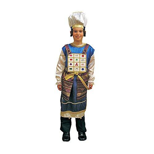 Dress Up America Kohen Gadol Costume d'enfant, 505-M, Comme la présentation, 8-10 ans (Taille 30-32, Hauteur 45-50 Pouces)
